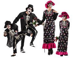 Grupo Esqueletos Catrina #disfraces #carnaval #disfracesparagrupos