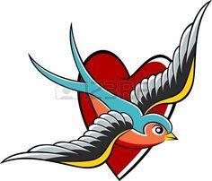 swallow emblem design