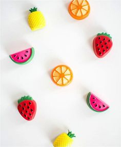 10 manualidades infantiles de fruta muy divertidas