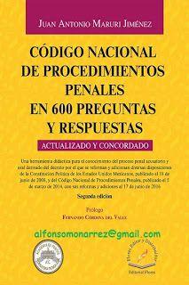 LIBROS EN DERECHO: CÓDIGO NACIONAL DE PROCEDIMIENTOS PENALES EN 600 P...