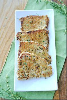Eat Yourself Skinny!: Herb Crusted Pork Chops