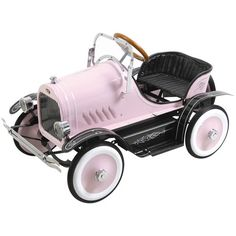 I pinned this Deluxe Roadster Pedal Car from the Playtime Finds event at Joss and Main!Pinned by #conceptcandieinteriors #girly