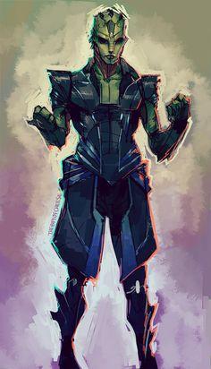 Mass Effect,фэндомы,ME art,Thane