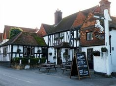 The White Horse country pub is located in the idyllic Surrey village of Shere and was it a century farmhouse and was once reputedly, a smugglers' pub. British Pub, Great British, Places Ive Been, Places To Go, Life In The Uk, English Village, White Horses, Surrey, Britain