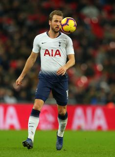 Harry Kane of Tottenham Hotspur during the Premier League match between Tottenham Hotspur and Southampton FC at Wembley Stadium on December 5 2018 in. Premier League News, English Premier League, Premier League Matches, Southampton Fc, Tottenham Hotspur Football, Harry Kane, Wembley Stadium, Soccer World, North London