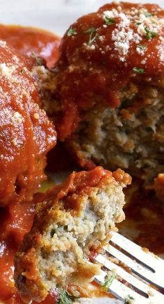 Gluten Free Slow Cooker Meatballs And Marinara Sauce.delicious served with any pasta or as a meatball sub sandwich! Slow Cooker Recipes, Beef Recipes, Cooking Recipes, Recipies, Family Recipes, Rock Recipes, Mexican Recipes, Cooking Ideas, Family Meals
