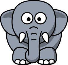 Sito utile per clipart - Lime Green Elephant clip art - vector clip art online, royalty free & public domain Elephant Icon, Thai Elephant, Cartoon Elephant, Baby Elephant, Elephant Drawings, Elephant Outline, Funny Elephant, Elephant Stuff, Elephant Images