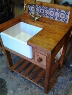 SHAKER-RUSTIC-STYLE-BELFAST-SINK-KITCHEN-UNIT-COMPLETE-WITH-WORKTOP-TAPS