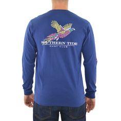 Southern Tide Hunt Club T-Shirt in Twilight Blue