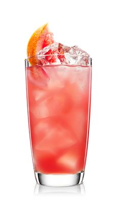 Malibu stirred with refreshing cranberry and grapefruit. Get ready for a fruity fantasy of flavour.