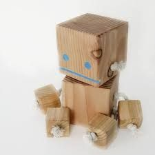 Image result for wooden block bots