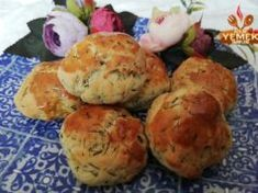 Dereotlu Minnak Poğaça Tarifi Cauliflower, Muffin, Snacks, Vegetables, Breakfast, Food, Morning Coffee, Appetizers, Cauliflowers
