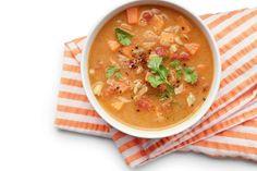 Sopa de frango e grão-de-bico | BOA FORMA