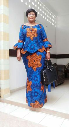 Looking for the best ankara fashion creative ideas and inspiration for your next fashion project? Look no further, here's the complete 2018 Most Creative Ankara Styles And Designs African Dresses For Women, African Print Dresses, African Print Fashion, Africa Fashion, African Attire, African Fashion Dresses, African Wear, African Women, Nigerian Fashion