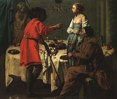 323. ter Brugghen, Hendrick - Il ritorno di Giacobbe da Labano - 1627 - Londra, National Gallery
