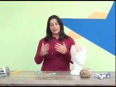 Cristina Amaduro - Gorro com trança em tricô