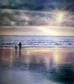 Magnificent painting, Rosemary!!! Beautiful light, colors and reflections!