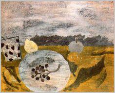 Obra del pintor inglés Ben Nicholson