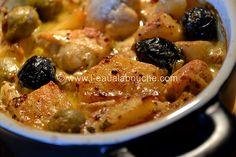 Blanc de Poulet à la Dijonnaise  http://www.l-eaualabouche.com/article-blanc-de-poulet-a-la-dijonnaise-deux-olives-100017668.html