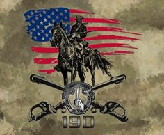 US Army Cavalry Snake and Skull Decal $3.50 | cav scout ...
