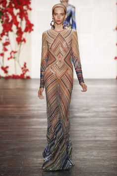 Look 12 Naeem Khan Spring/Summer 2016 Ready-To-Wear Collection