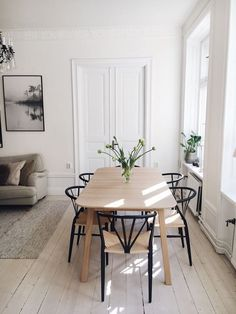 Dining Nook, Dining Room Design, Dining Room Inspiration, Home Decor Inspiration, Home Decor Kitchen, Cheap Home Decor, Apartment Living, Home And Living, Living Room Decor