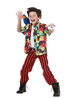 Fun Costumes boys Child Ace Ventura Costume with Wig Small -- Want to know more, click on the image.