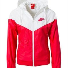 NOT SELLING ***** looking for this jacket Looking for this Nike windbreaker in this color or the black and white one. Help me please it's sold out everywhere :( Nike Jackets & Coats - 2019 Red Nike Jacket, Sports Jacket, Sporty Outfits, Nike Outfits, Nike Coats, Cute Jackets, Jackets For Women, Nike Windrunner Jacket, Slim Fit Jackets