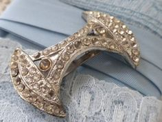 Vintage Art Deco Inspired Dress Clip by beautifulliving on Etsy, $9.95