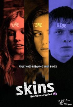 #Skins (E4) series 7 poster so looking forward to this!!!