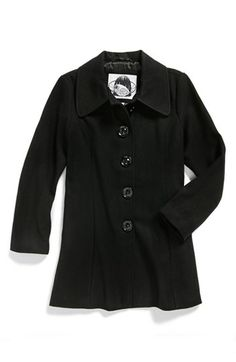 Sugarfly Wool Blend Coat (Big Girls) available at #Nordstrom