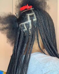 Box Braids Hairstyles For Black Women, Girls Natural Hairstyles, Kids Braided Hairstyles, African Braids Hairstyles, Braids For Black Hair, Protective Hairstyles, Toddler Hairstyles, Girl Hairstyles, Curly Hair Styles