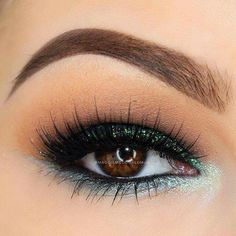 Green with envy eyes