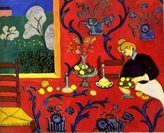 Henri Matisse, Harmony in Red, 1908-1909