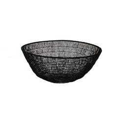 Holly's House - Wire Braid Deep Bowl