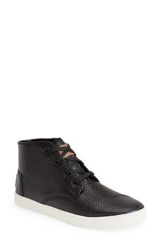 TOMS 'Paseo' Leather Sneaker (Women) | Nordstrom