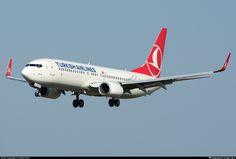 TC-JHU Turkish Airlines Boeing 737-8F2(WL)