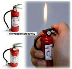 Awesome lighter! Never fight fire with fire