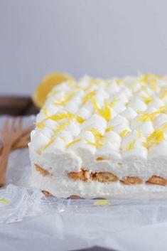 The tastiest lemon tiramisu - Dutch Recipes, Baking Recipes, Sweet Recipes, Cake Recipes, Dessert Recipes, Sweet Desserts, No Bake Desserts, Food Cakes, Cupcake Cakes
