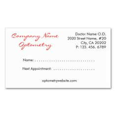 Appointment Simple Plain Reminder  Appointments Business Cards