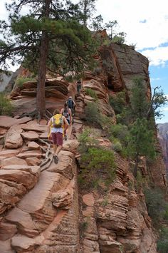 Angels Landing Zion National Park Hike