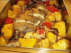 A receita de Peixe Assado no Forno à Portuguesa é destinada a todos os peixes congelados como é o exemplo de ruivos, pescada, red-fishes, imperador etc.