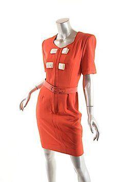Valentino short dress RED Vintage on Tradesy