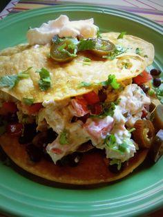 "Chicken Tostadas ""a la Siberia"" - Hispanic Kitchen"
