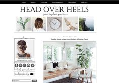 modern and classy blog design that comes with installation!! blissful & bold designs