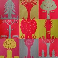 paper cut out Art Education Lessons, Art Lessons For Kids, Art For Kids, Elementary Art Lesson Plans, Upper Elementary, Polish Folk Art, Mexican Crafts, Jr Art, Paper Art