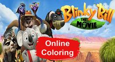 Blinky Bill Online Coloring Pages Online Coloring Pages, Pets, Animals And Pets