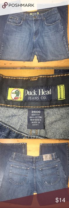 e935502156 Duck Head jeans distressed boot cut 34x30 Excellent condition Manufactured  distressed look Boot cut Size is