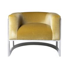 lisa jarvis half moon chair zincdoor - Leather Chair And A Half