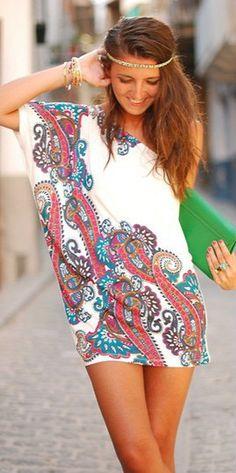 Bridesmaid dress for haute hippie chic destination wedding
